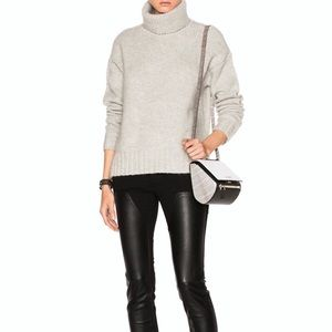 NWT A.L.C. Grey Turtleneck Sweater